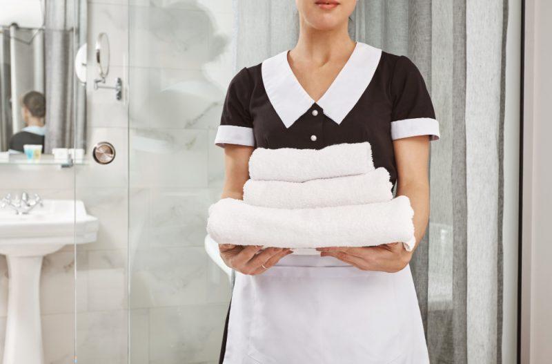 Was muss man als Zimmermädchen alles machen?